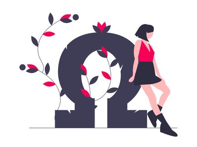 Omega illustration