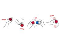 Simple Gesture Language Lexicon