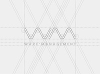 WAVE MANAGEMENT (How to design the Logo2)