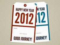 Good journey! 2012!