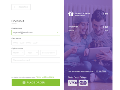 Shopping is fun. simple clean flat ui cart website ecommerce online checkout shop