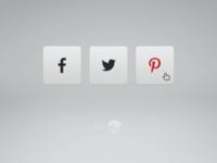 #Dailyui  #010 : Social Share daily ui social share web simple clean minimal ui