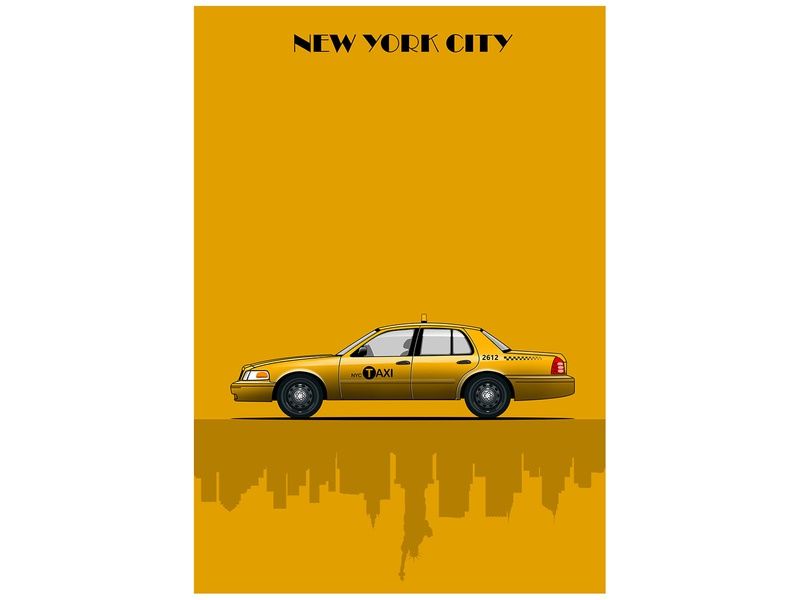 NYC Taxi Illustration