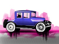 Cadillac Illustration