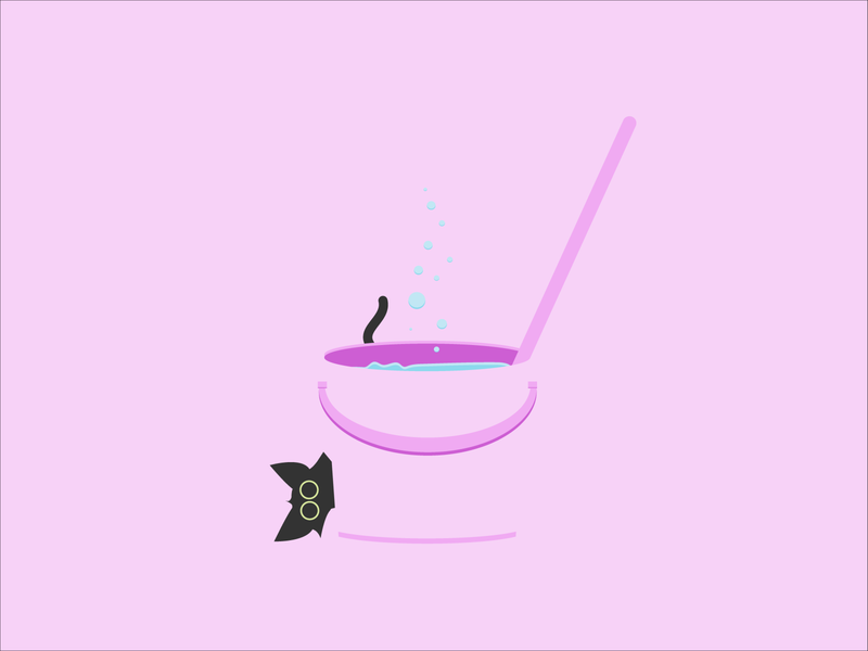 Catventure #7 character design concept purple minimal illustration design art minimalist vector graphic graphic design character clean catventure cat