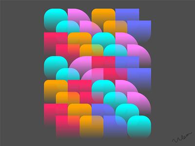 Patterns and gradients gradient design exploration candy pattern design pattern art pattern gradients gradient geometric design vector illustration minimal abstract design art minimalist vector graphic graphic design