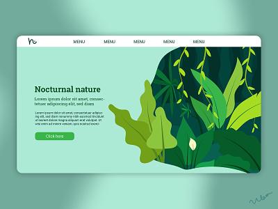 Website idea abstract minimal vector minimalist nature trees plants web illustration website design website web design web design graphic design graphicdesign illustration