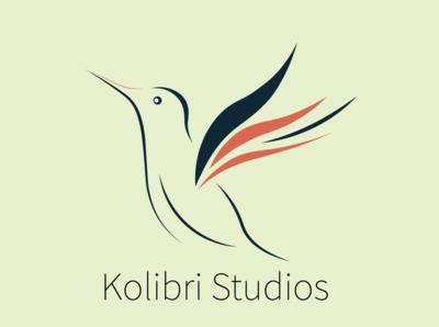 """Logo design for """"kolibri studios"""""""