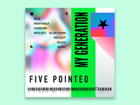 Five Pointed Single Cover Art