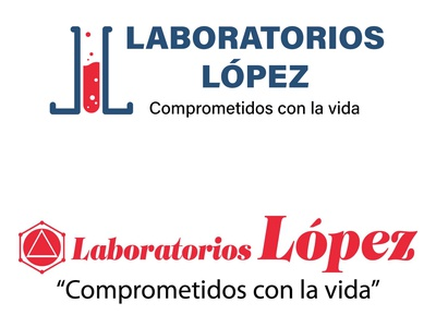 Lab Lopez v2 el salvador vector flat design logo design illustration