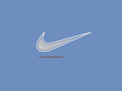 Nike branding flatdesign logo flat illustration vector flat design illustration