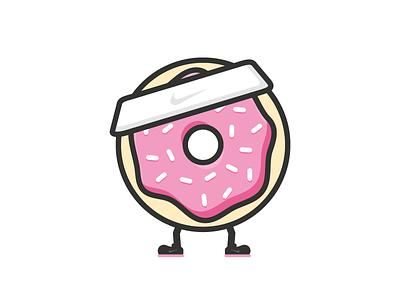 Team Social donut sprinkles nike swoosh team social cute feet headband sweaty
