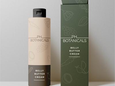 PH Botanicals Packaging Design branding packaging graphic design