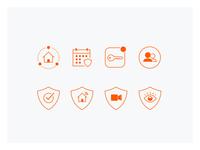 Myfox UI Icons