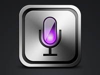 Siri like icon app
