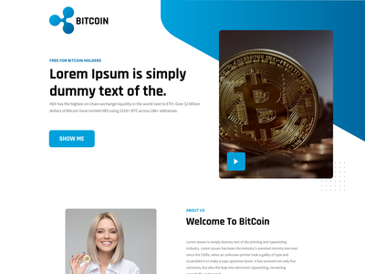 Bitcoin crypto exchange crypto currency crypto wallet cryptocurrency crypto moeny security coins coin bitcoin exchange bitcoin wallet bitcoins bitcoin ui design landingpage home page web design homepage