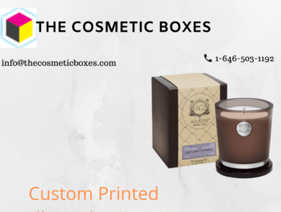 candle packaging USA packaging boxes printed candle boxes