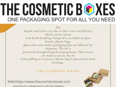 Custom printed Hemp Packaging hemp oil hemp boxes boxes