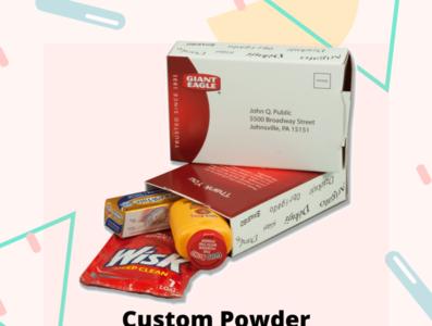 Custom Powder Packaging Boxes wholesale powder boxes custom logo custom retails boxes