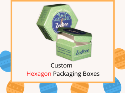 Custom Hexagon Packaging Boxes