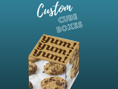 Custom Cube Boxes custom boxes printed cube boxes