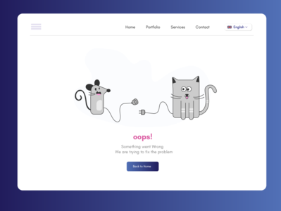ERROR 500- Internal server error ui webdesign concept illustration design
