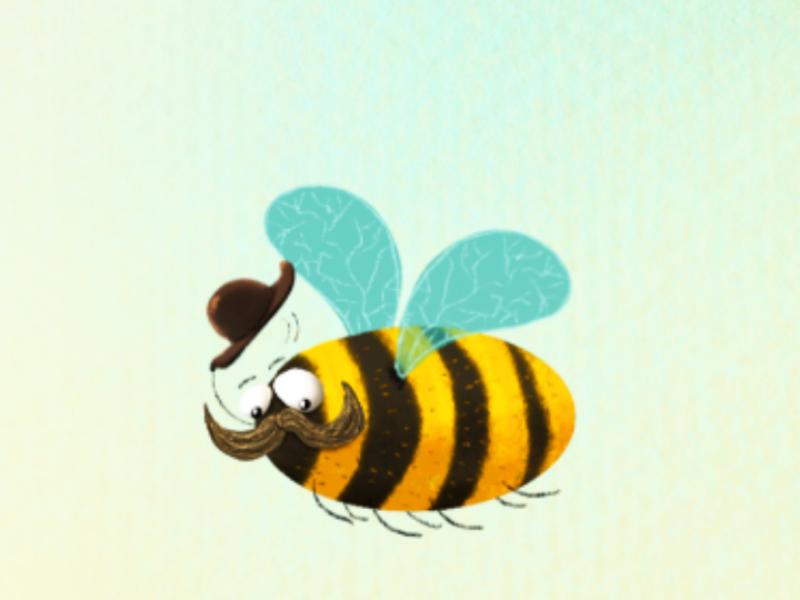 Bumblebee childrens book children book illustrator illustration