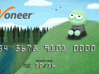 Payoneer Card Design contest illustration contest