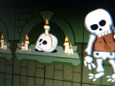 Dungeon Decorations exile game graphics cartoons illustration