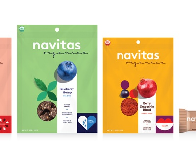 Superfood Packaging food branding organic branding design pouch label design packaging powder snacks smoothie berry food cpg ingredients icons hemp blueberry superfoods identity