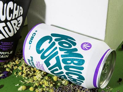 Kombucha Culture Rebrand cbd kombucha packaging kombucha beverage design beverage organic label branding design label design packaging identity cpg branding
