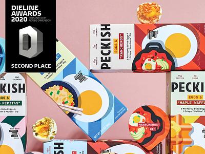 Peckish Branding & Packaging free range paleo keto ready to eat snacking snacks savory dips hardboiled peckish eggs iconography label label design branding design cpg packaging identity branding