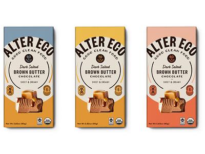 Fair Trade Chocolate Bars typography color logo label branding design identity branding label design cpg packaging