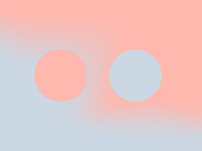 Color Funk 3 blend cool warm texture pink cool grey color palette gradient