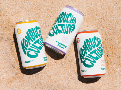 Kombucha Culture Branding & Packaging label logo design label design cpg branding design packaging identity branding