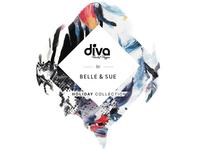 Identity for Diva swimwear x Belle & Sue