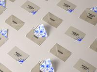 Shabour Paris restaurant branding envalope assaf granit paris jerusalem pattern stationery brand design branding concept brand identity branding restaurant