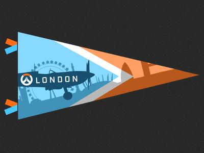 London Spitfires Pennant