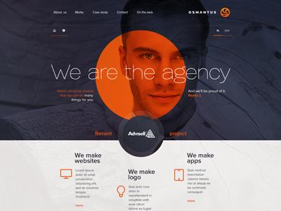 Osmantus - ver 1 osmantus website www web logo