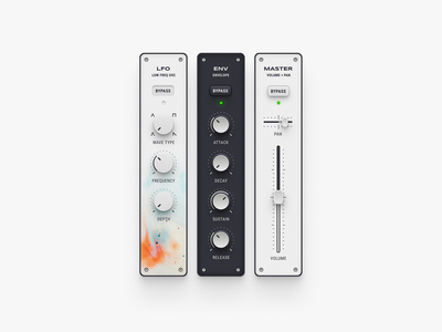 Modular Synth 🎹 modular app synthesizer app synth app music app app user interface music synthesizer modular ux ui