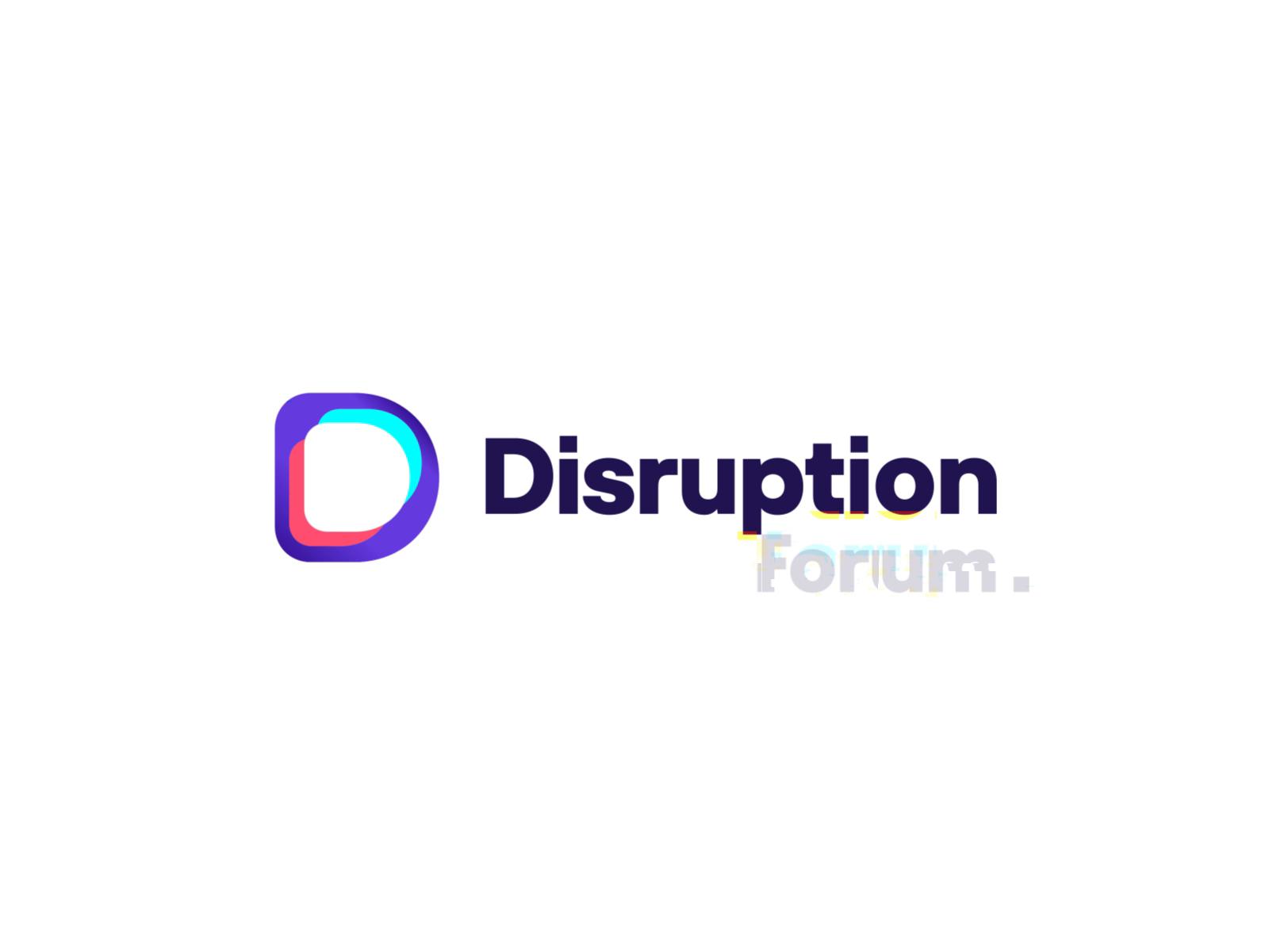 Disruption Forum Logo Animation