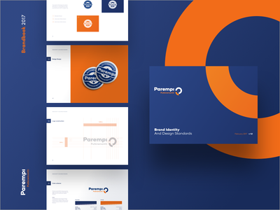 Parempi logo pipes corporate identity vidual identity brand pipe