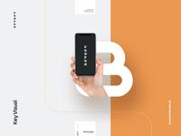 BerKey key visual black orange brand guidelines branding logo agency