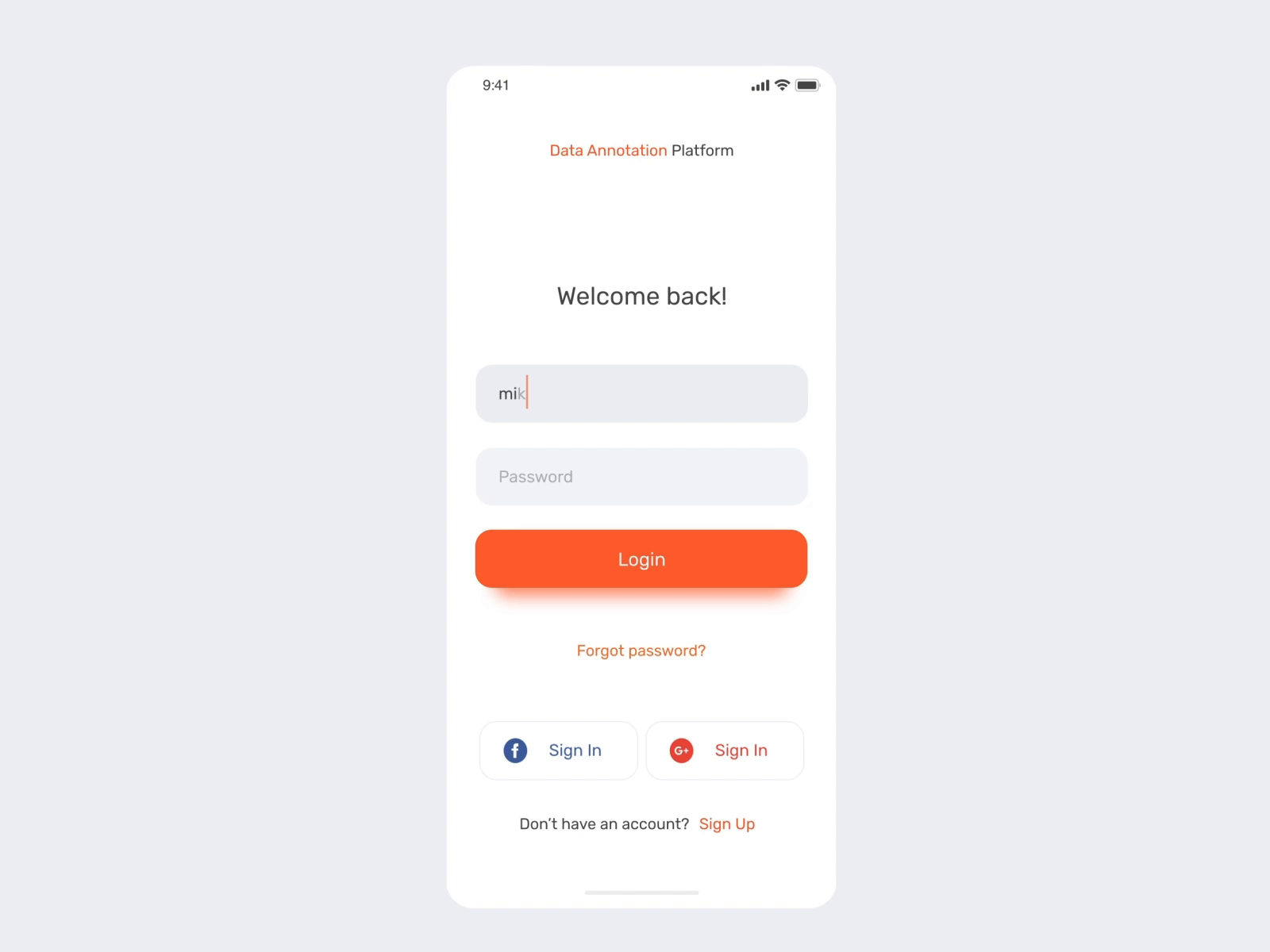 Data Annotation Platform App Animation