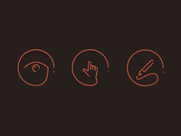 Icons for my new website