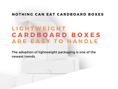 Infographic Lightweight Cardboard Boxes are Easy to Handle where to buy cardboard boxes cardboard boxes for sale custom cardboard boxes small cardboard boxes cardboard boxes