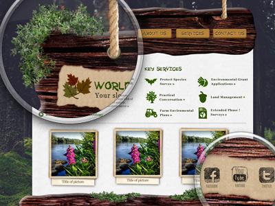 World Ecology world ecology wood site web green trees grass