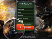 Hellzombie - Browser Based Game
