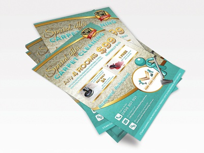 Carpet Cleaning Flyer poster wine flyer cleaning capet