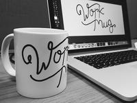work mug